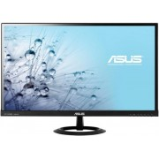 "Monitor IPS LED Asus 27"" VX279H, Full HD, 5 ms GTG, HDMI, Boxe, Flicker free, Low Blue Light (Negru) + Bitdefender Antivirus Plus 2017, 1 PC, 1 an, Licenta noua, Scratch Card"