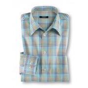 Walbusch Extraglatt Hemd Indian Summer Blau 38
