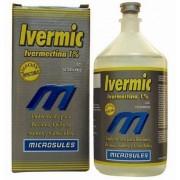 IVERMIC (IVERMECTINA) 1% INJETÁVEL - 500ml