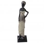 Africana Decorativa de Resina Ref-qc0460