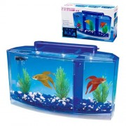 PENN PLAX BETTA DELUXE akvárium 2,7l+LED osvetlenie