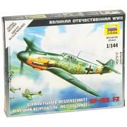 Modellino Aereo German Fighter Messerschmitt BF-109 F2 Scala 1:144