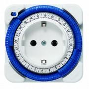 Theben Timer 26 - Presa con timer, colore: Bianco