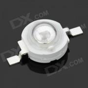 JR-3W-410NM 3W 410nm UV Light LED Module - Silver + White