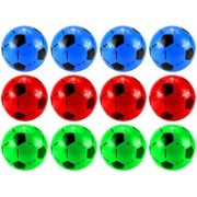 "Set Of 12 6"" Soccer Ball Childrens Kids Toy Play Ball, Perfect For Indoor/ Outdoor Play, Add On For Sports Playsets"