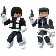 Diamond Select Toys Marvel Minimates Series 51 Marvel Now Maria Hill and Heavy SHIELD Agent Action Figure