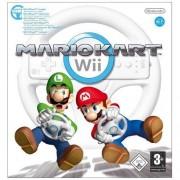 Mario Kart + Racing Wheel Wii