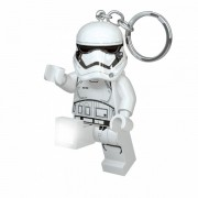Breloc cu lanterna LED LEGO Star Wars First Order Stormtrooper