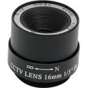 Casey Lens 16MM FIXED IRIS, Retail Box , No