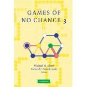 Games of No Chance 3 2005 by Richard J. Nowakowski