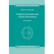 Nonlinear Dynamics and Chaotic Phenomena by Bhimsen K. Shivamoggi