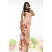 Rochie MissQ Floral Party Peach