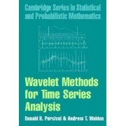 Wavelet Methods for Time Series Analysis by Donald B. Percival