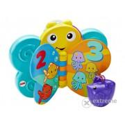 Jucărie pentru bebeluși Fisher Price, fluturele carte