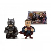 Figurine Batman Vs Superman - Pack Armored Batman & Superman 10cm