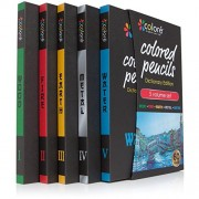 Colore Colored Pencils Dictionary Edition - 60 Premium Pre-Sharpened Color Pencil Set For Drawing Coloring Pages - Great Art School Supplies For Kids & Adults Coloring Books - 60 Vibrant Colors