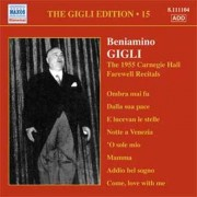 Récital Volume 15 : Oeuvres De Meyerbeer, Caccini, Haendel, Massenet, Wagner, Chopin