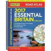 Philip's Essential Road Atlas Britain and Ireland 2017