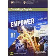 Adrian Doff Cambridge English Empower for Spanish Speakers B1 Learning Pack (Student's Book with Online Assessment and Practice and Workbook)