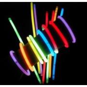 Braccialetti luminosi fluorescenti STARLIGHT tubo 100 pz