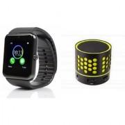 YSB GT08 Smart Watch And Bluetooth Speaker (S10 Speaker) for ASUS ZENFONE SELFIE