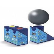 Revell Acrylics (Aqua) - 18ml - Aqua Dark Grey Silk - RV36378