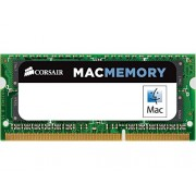 Corsair CMSA4GX3M1A1333C9 Apple Mac Memoria da 4 GB (1x4 GB), DDR3, 1333 MHz, CL9, SODIMM, Certificata Apple
