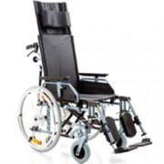 sedia a rotelle / carrozzina pieghevole ad autospinta comfy - schiena