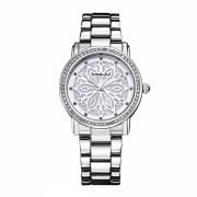 Ceas elegant dama CRRJU Quartz 2109-2 , argintiu