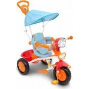 Tricicleta cu maner muzica si lumini Piccino Piccio