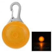 Ciclo al aire libre de Orange bici de la luz LED del asiento colgante - Naranja + plata