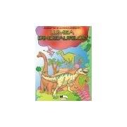 Joaca-te si construieste in lumea dinozaurilor - citeste, coloreaza, construieste