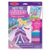 Set creatie cu sclipici: Printese si zane - Melissa and Doug