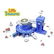 Your child can motor to the action and help keep the city safe from this awesome Control Center Toy Set! Have an excitin