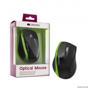 Mouse, CANYON CNR-MSO01NG, Black/Green