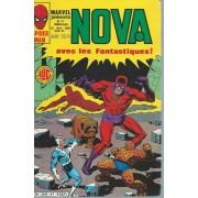 Nova N° 41 ( 10 Juin 1981 ) : Peter Parker Alias L'araignée + Spider-Woman + Les 4 Fantastiques ( Fantastic Four )