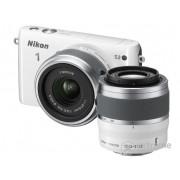 Aparat foto Nikon 1 S2 (obiectiv 11-27,5mm + 30-110mm), alb