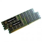Hypertec DDR3 SDRAM - Kit memoria DIMM da 4 GB (2 moduli da 2048 MB), 1600 MHz, PC3-12800, CL9 DDR3 Non-ECC, 240 Pin