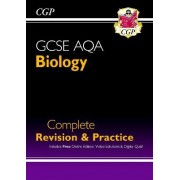 New Grade 9-1 GCSE Biology AQA Complete Revision & Practice with Online Edition by CGP Books