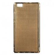 Gorgeous Bling Gold Huawei P8 Lite Glitter Gel TPU Air Cushion Cover Case