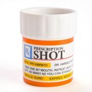"""""""Prescription Shot Glasses - Set of 3"""""""