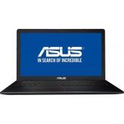 "Laptop ASUS F550VX-DM102D (Procesor Intel® Core™ i7-6700HQ (6M Cache, up to 3.50 GHz), Skylake, 15.6""FHD, 8GB, 1TB @7200rpm, nVidia GeForce GTX 950M@4GB, Wireless AC) + Set curatare Serioux SRXA-CLN150CL, pentru ecrane LCD, 150 ml"