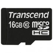 Transcend minneskort microSDHC 16GB Class 10