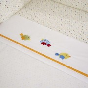 Suncrest Jolly Jamboree Cotbed Fitted Sheet
