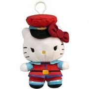 Toynami Hello Kitty M. Bison Clip On Coin Plush Purse