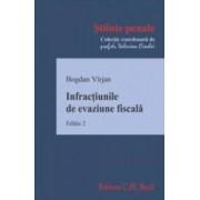 Infractiunile de evaziune fiscala. Ed. 2 - Bogdan Virjan
