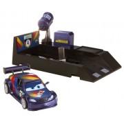 Mattel Disney Cars 2 Pit Stop - Max Schnell y lanzador