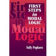 First Steps in Modal Logic by Sally Popkorn