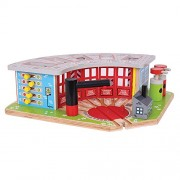 Bigjigs Rail BJT192 Five Way Engine Shed