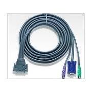 ATEN 2L-1603P :: KVM кабел, DB25 M >> 2x PS2 M + HD15 M, 3.0 м